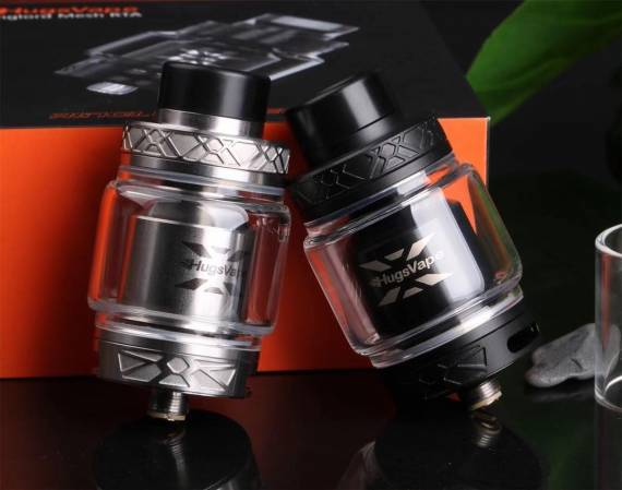 Hugsvape Ring Lord Mesh RTA - the rocker arm over the mesh hangs ...