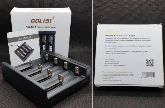 Golisi Needle 4 Charger and Golisi S4 Charger