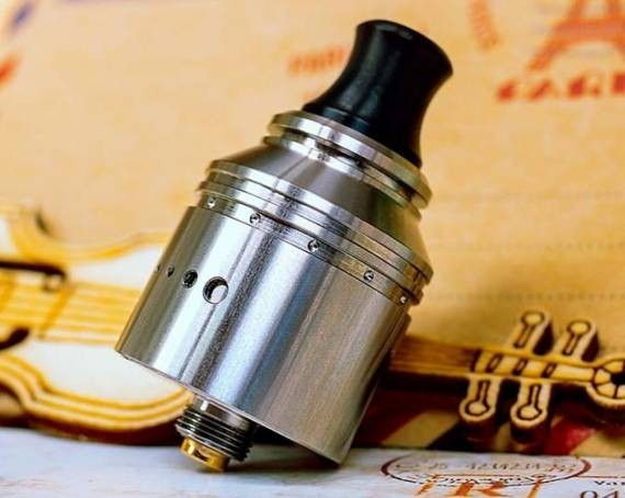 Vapefly Holic MTL RDA - it became more interesting both from the inside and from the outside ...