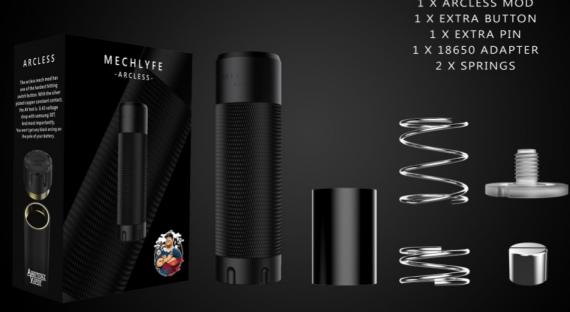 Mechlyfe Arcless Mech Mod - симпатичное начало новичков на рынке...