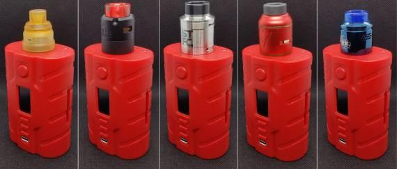 Пощупаем??? - Vapecige VTX200 DNA250C Squonk Kit...