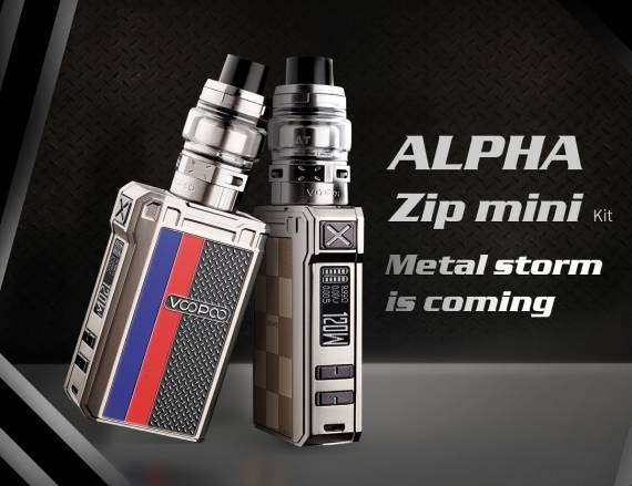 VOOPOO ALPHA Zip Mini kit Review