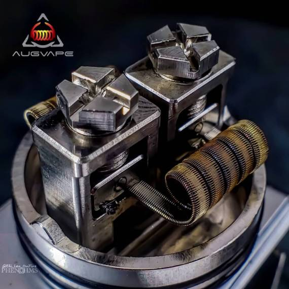 Augvape x Twisted Messes OCCULA RDA - экземпляр для окул койлбилдинга...