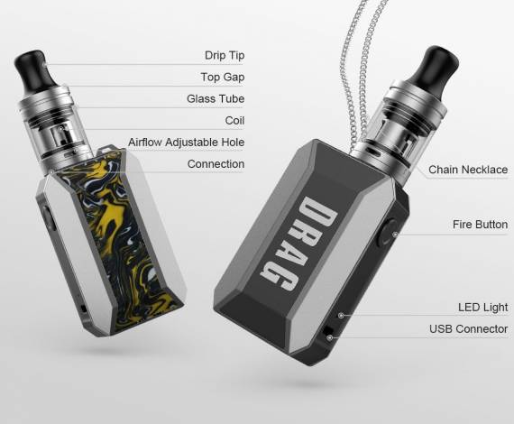 VOOPOO Drag Baby trio Kit Review