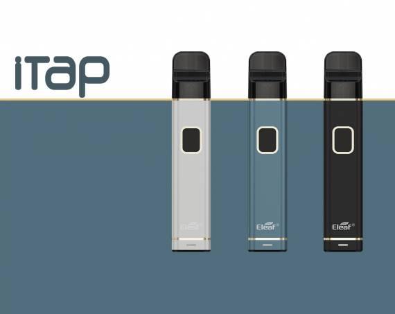Eleaf iTap - недорогой брусок с возможностью регулировки обдува...