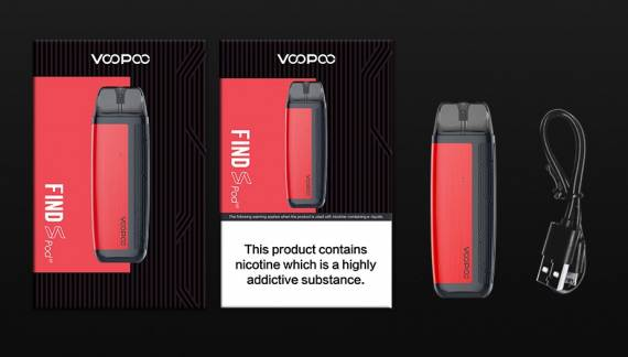 VOOPOO Find S Pod Kit - for a change ...