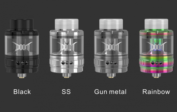 Damn Vape Doom RTA - tank grid becoming mainstream? ...