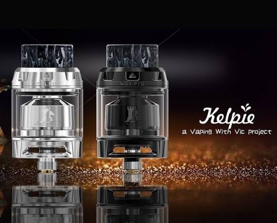 The Ehpro Kelpie RTA is yet another single-spiral version with trellised airflow ...