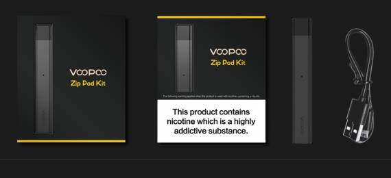 VOOPOO ALPHA Zip Pod Kit