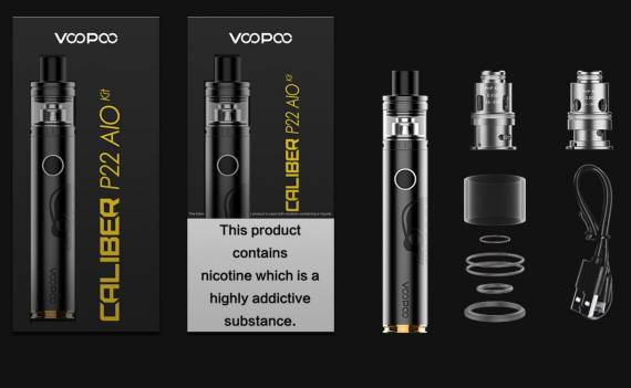 VOOPOO Caliber P22 AIO Kit Review