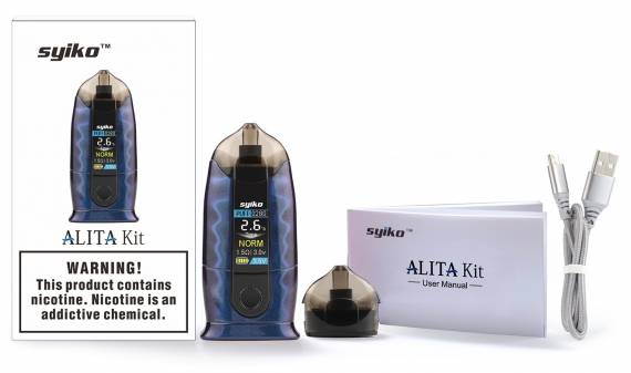 Syiko Alita Pod Starter Kit Review