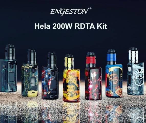 Engeston Hela II RDTA Kit - такой набор за сущие копейки...