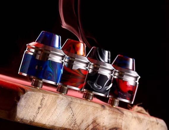 Aleader Rocket RDA - симпатично оформленная односпиралка...