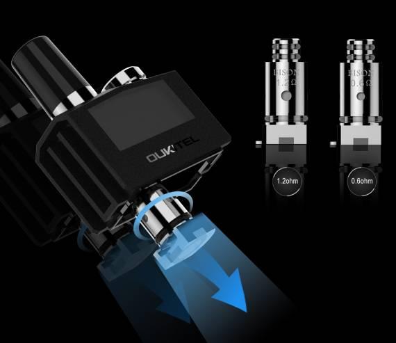 Oukitel BISON vape kit - еще один набор от известного производителя гаджетов...