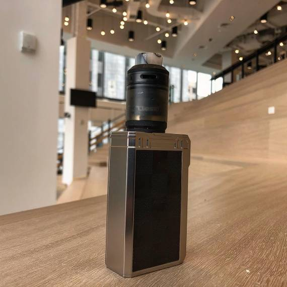 The Timesvape Diesel RTA is a non-spillable double-stranded copy ...