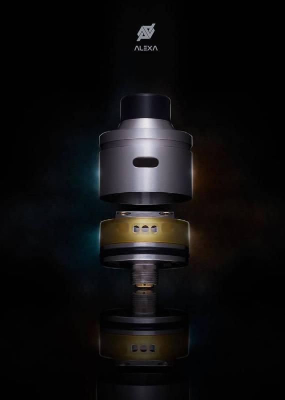 Desire design & Inhale Coils Alexa RDA - а выглядит-то достойно...