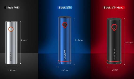 Smok Stick V9 kit - приличный набор для поклонников необслуг