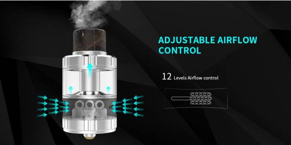 G-taste Aries 30 RTA - монстр с тремя спиралями и невероятной вместительностью...