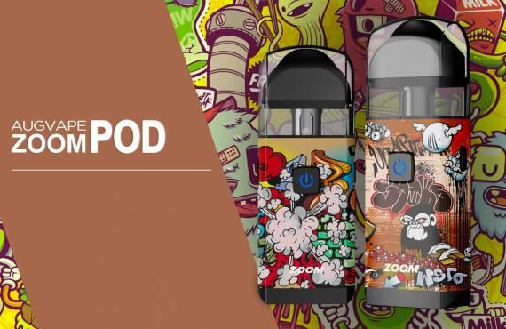 Augvape Zoom Pod - приличная емкость и быстрая зарядка...