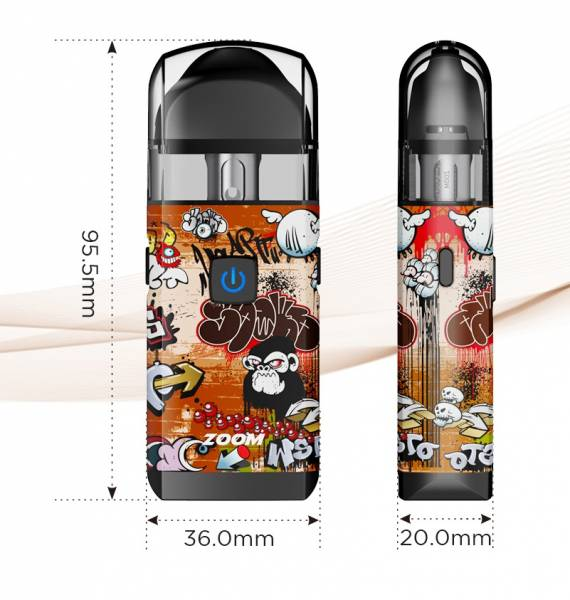 Augvape Zoom Pod - decent capacity and fast charging ...