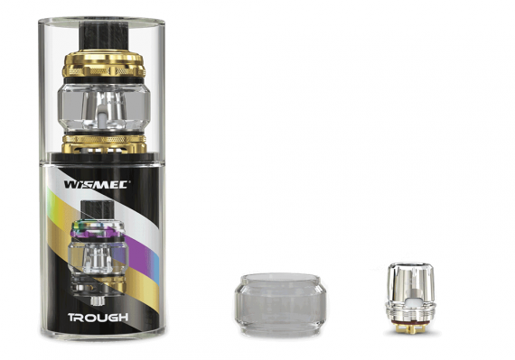 Ohm Tank's Wismec Trough Sub is a lonely but proud tank ...