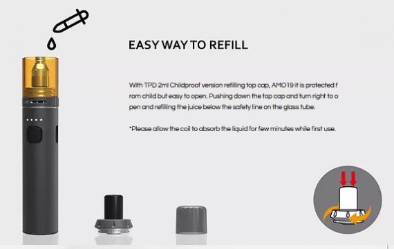 Da one AMO19 starter kit - недаром в серый цвет покрашен...