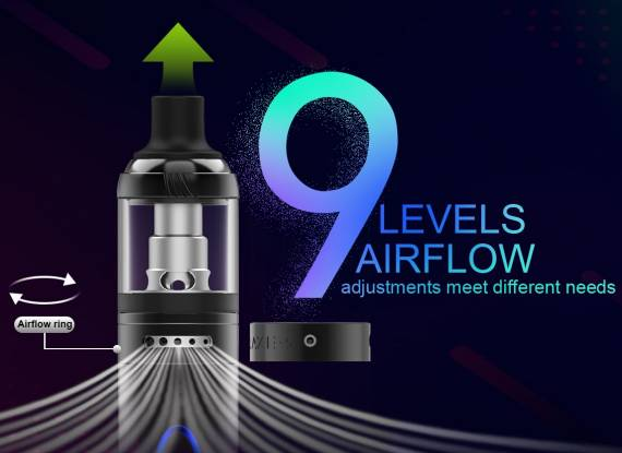 Vapefly Galaxies MTL Starter Kit - a set with a decent adjustment of the blower ...