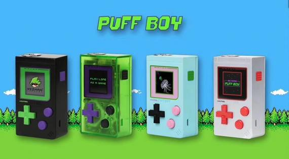 Wizman Puff Boy Mod Device Review