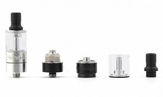 Augvape Merlin Nano MTL RTA - стройный олдскульный сигаретник...