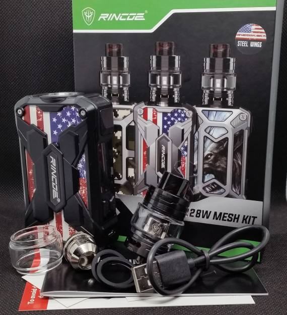 Feel ???  - Rincoe Mechman 228W Mesh Kit ...