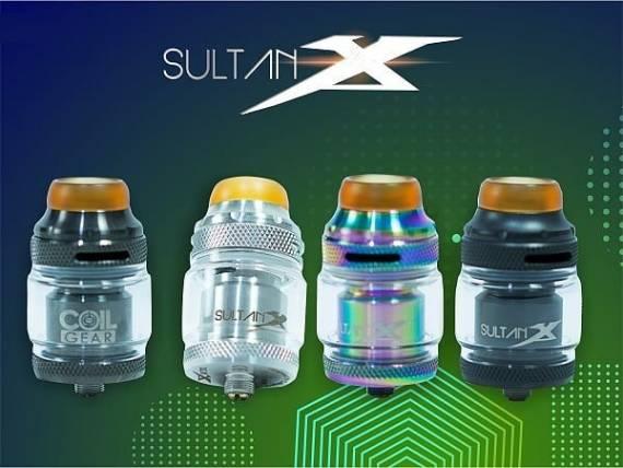 Coil Gear Sultan X RTA -