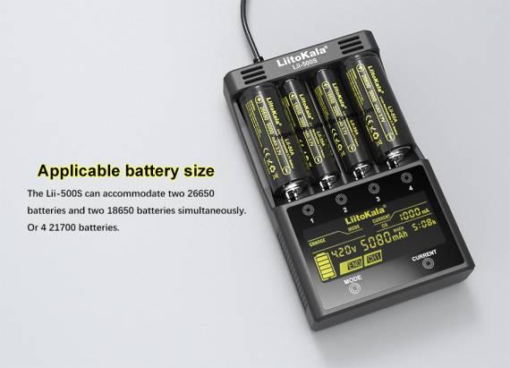 LiitoKala Lii-500S - обновление народной зарядки...