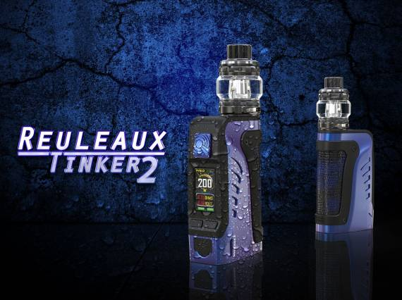 Wismec Reuleaux Tinker 2 kit - minus one can ...