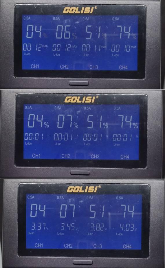 Пощупаем??? - GOLISI i4 Smart Charger и АКБ G30 / S43 / L35...