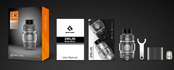 Geek Vape Zeus Sub ohm Tank - необслуга, непроливайка, зевс - какое из этих слов подкупает?...