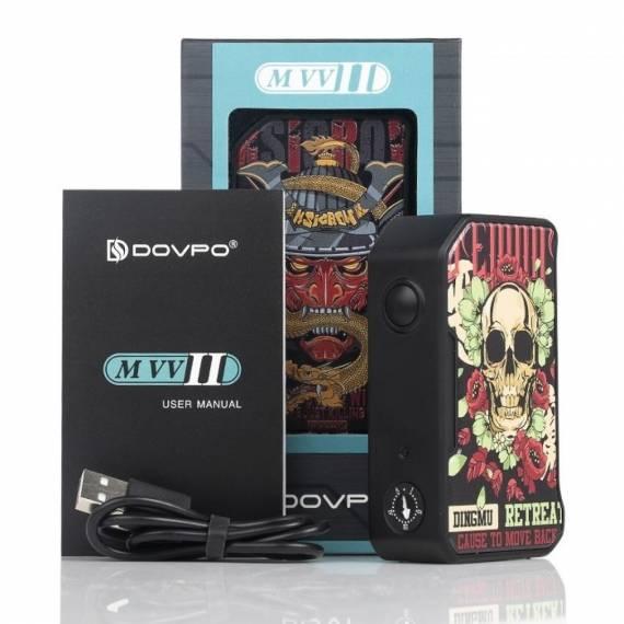 Dovpo M VV II Box Mod - продолжение серии скартинками и Type-C...