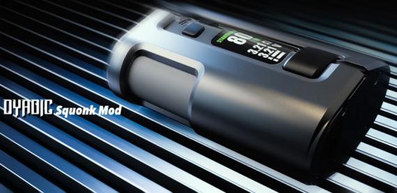 Wotofo Dyadic Squonk mod - две банки, вариват и боковая заправка...