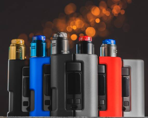 Wotofo Dyadic Squonk mod - two cans, varivat and side refueling ...