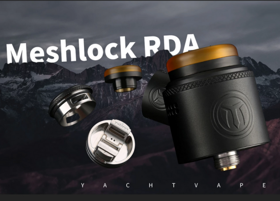 Yachtvape Meshlock RDA - сетка плюс дека на кнопках...