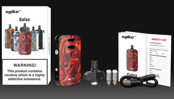 Syiko Galax 25W POD kit Review