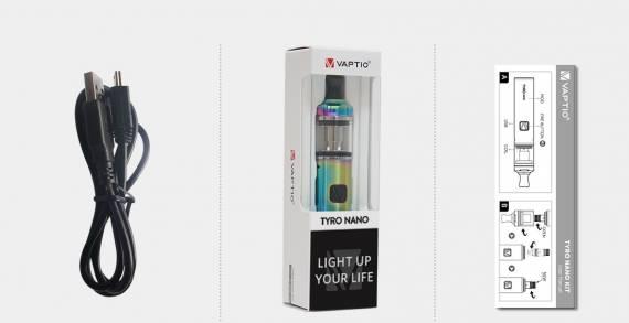 The Vaptio Tyro Nano kit is just another AIO ...
