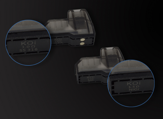 Hotcig Koi Pod Kit - очередное пополнение модельного ряда...