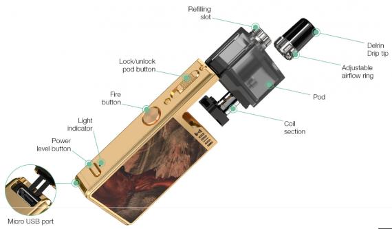 Lost Vape Orion PLUS DNA Pod Review