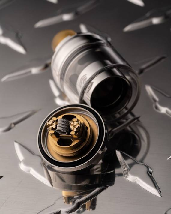 Reload MTL 22mm RTA - элегантый сигаретник от законодателей моды...