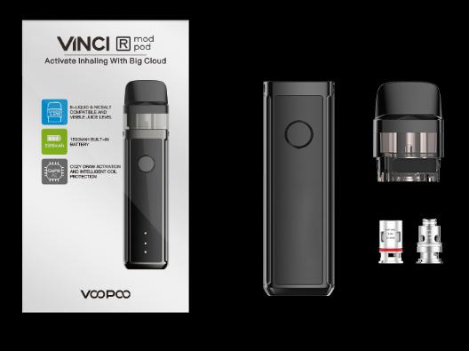 Voopoo VINCI R Mod Pod - знакомый экземпляр, но уже попроще...