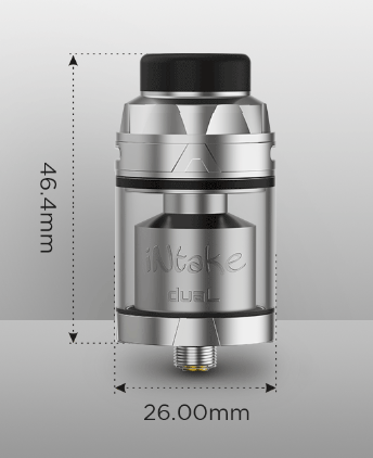 Augvape Intake Dual RTA - plus one spiral and familiar exterior ...