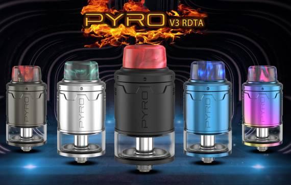 Vandy Vape Pyro V3 RDTA - сквонк пин и два вида обдува...
