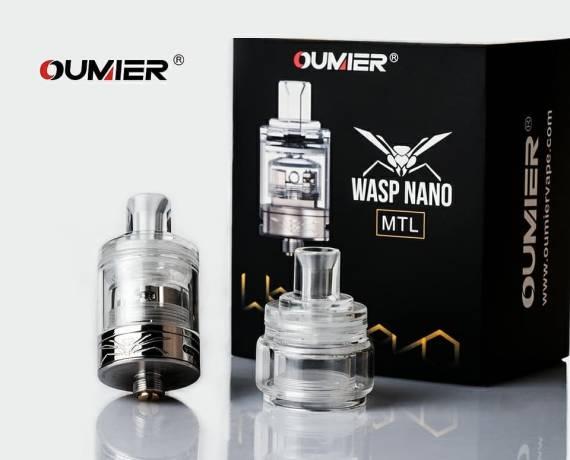 Oumier Wasp Nano MTL RTA - оса из пластика...
