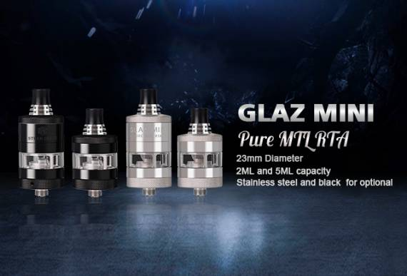 Steam Crave Glaz Mini MTL RTA - сигаретник в корпоративном стиле...