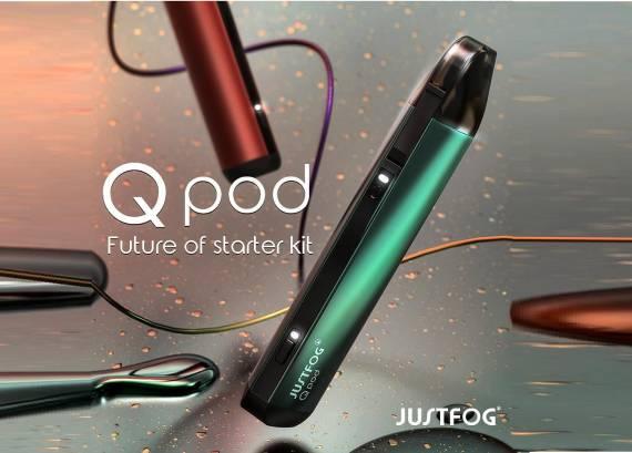 JUSTFOG QPod Kit - вытянутый солевик...